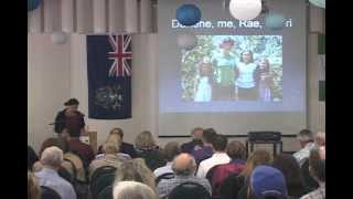 "Jacqui Christian on ""Back to the Future"" (regarding the future of Pitcairn Island)"