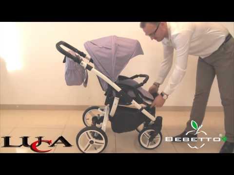 Видеообзор универсальной коляски Bebetto Luca