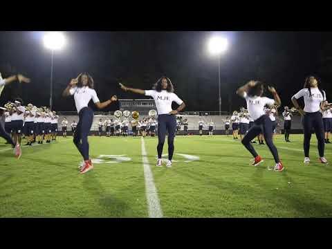 Berkmar High school Band 8th Grade Night ( vs Lithia Springs)