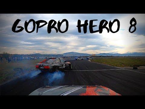 On Board Drift Car - GoPro Hero 8 Black 4K 60fps 1440p 16:9 HyperSmooth 2.0 RAW FOOTAGE