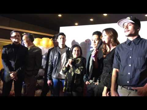 Nora Aunor and the whole cast of Kabisera at the Red Carpet Premiere