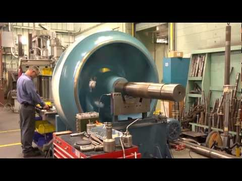 Balancing a Large Impeller