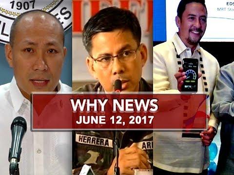 UNTV: Why News (June 12, 2017)