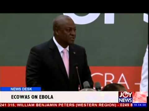 Ecowas on Ebola - News Desk (31-7-14)