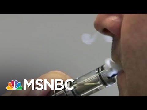 FDA: No More E-Cigarette Sales To Minors | MSNBC