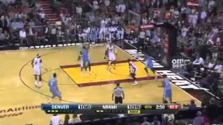 Denver Nuggets Vs Miami Heat - Highlights November 3, 2012
