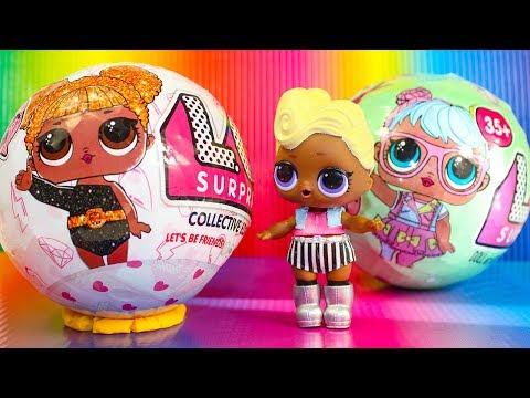 LOL Surprise Куклы ЛОЛ Новые шары ЛОЛ Сюрпризы Видео для детей Игрушки Куклы Пупсики Кидс Плей ТВ