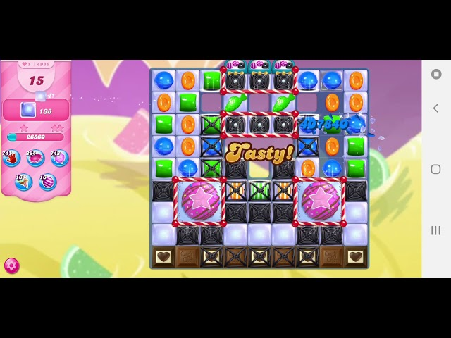 Candy Crush Saga niveau 4988