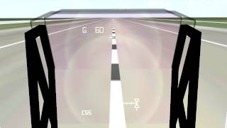 F-Sim Space Shuttle Landing Simulator on Samsung Galaxy Note -  Android - HD