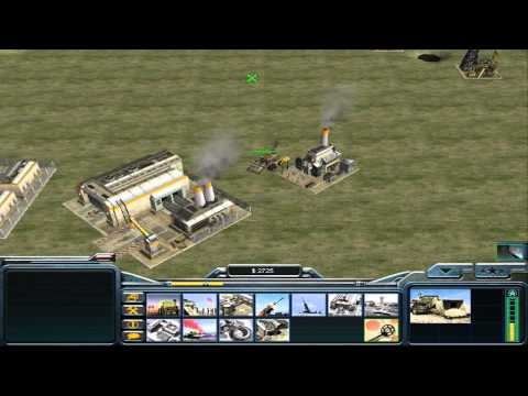 Generals Zero Hour Survival 1vs1 sancho cheat map Command and Conquer General K