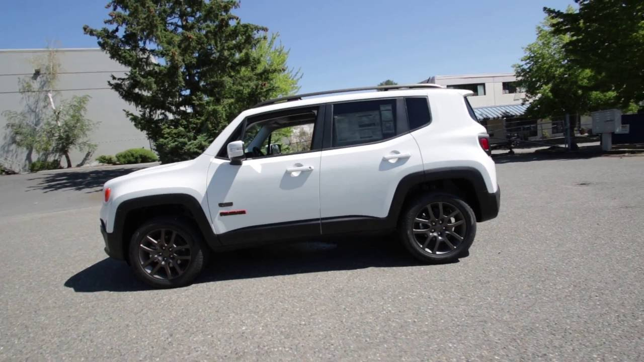 2016 Jeep Renegade 75th Anniversary Alpine White