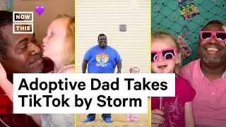 Adoptive Dad of 3 Goes Viral on TikTok