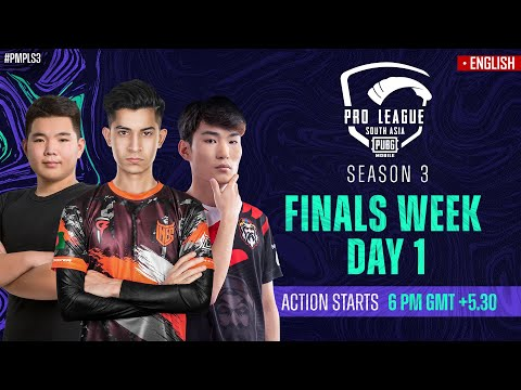 [EN] 2021 PMPL South Asia Finals Week Day 1 | S3 | Battle for the PMPL SA Champions Title!