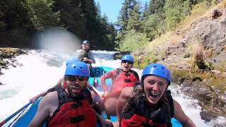 Whitewater Rafting the White Salmon River Middle Gorge