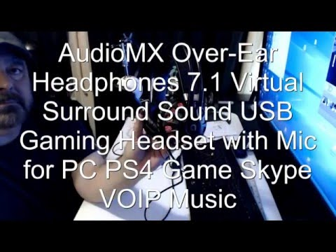 AudioMX Gaming Headset Test and Review