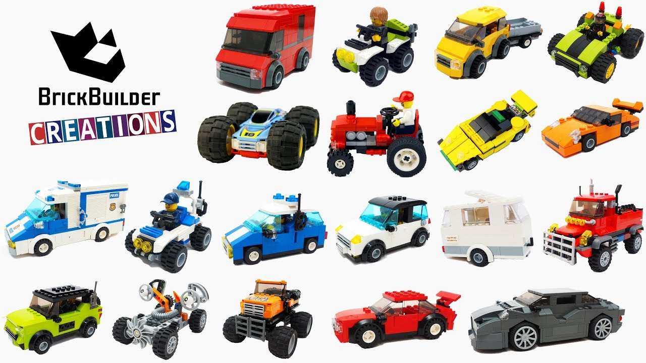 Compilation All Lego Moc Cars 2017 2018 On Brick Builder Creations