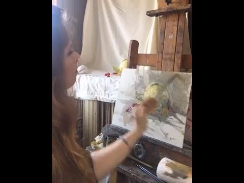 Still Life with Fresh Fruit Painting with Jessica Henry