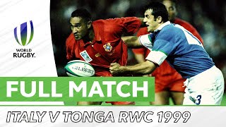 Rugby World Cup 1999 Italy v Tonga