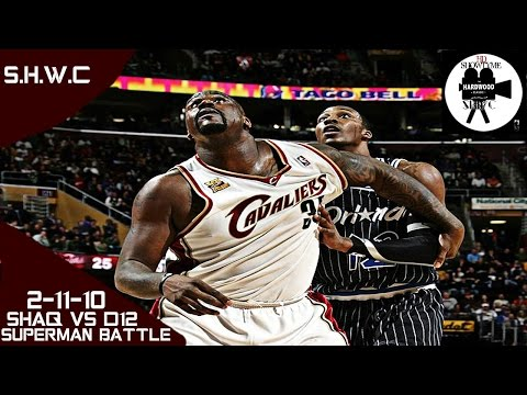 Shaquille O'Neal Vs Dwight Howard SuperMan Battle Full Highlights (2-11-10) Shaq 10 Pts, Dwight 19!