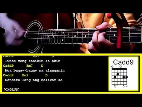 Para Sa\'yo by Juan Karlos Labajo-Guitar Chords & Strumming Pattern ...