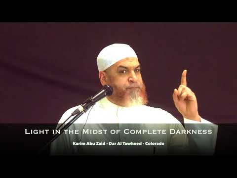 Light in the Midst of Complete Darkness by Karim AbuZaid