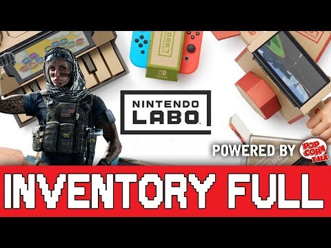 Nintendo Demos Labo, Rainbow 6 Siege Growing & More Gamer Culture