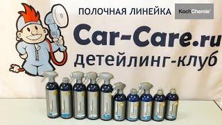Koch Chemie - полочная линейка автохимии. Мини-обзор от Car-Care.ru.