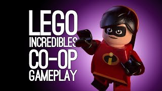 Lego Incredibles Gameplay: Let's Play Lego The Incredibles Co-Op Two Missions - SMASH THE MIMES