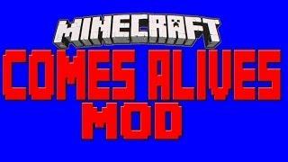Minecraft 1.7.2/1.7.10 - Descargar E Instalar Comes Alive Mod