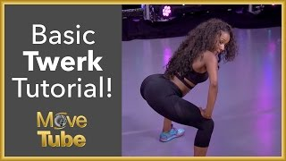 Learn Step by Step Beginner Twerk From Kelsey Mobley! Part 1