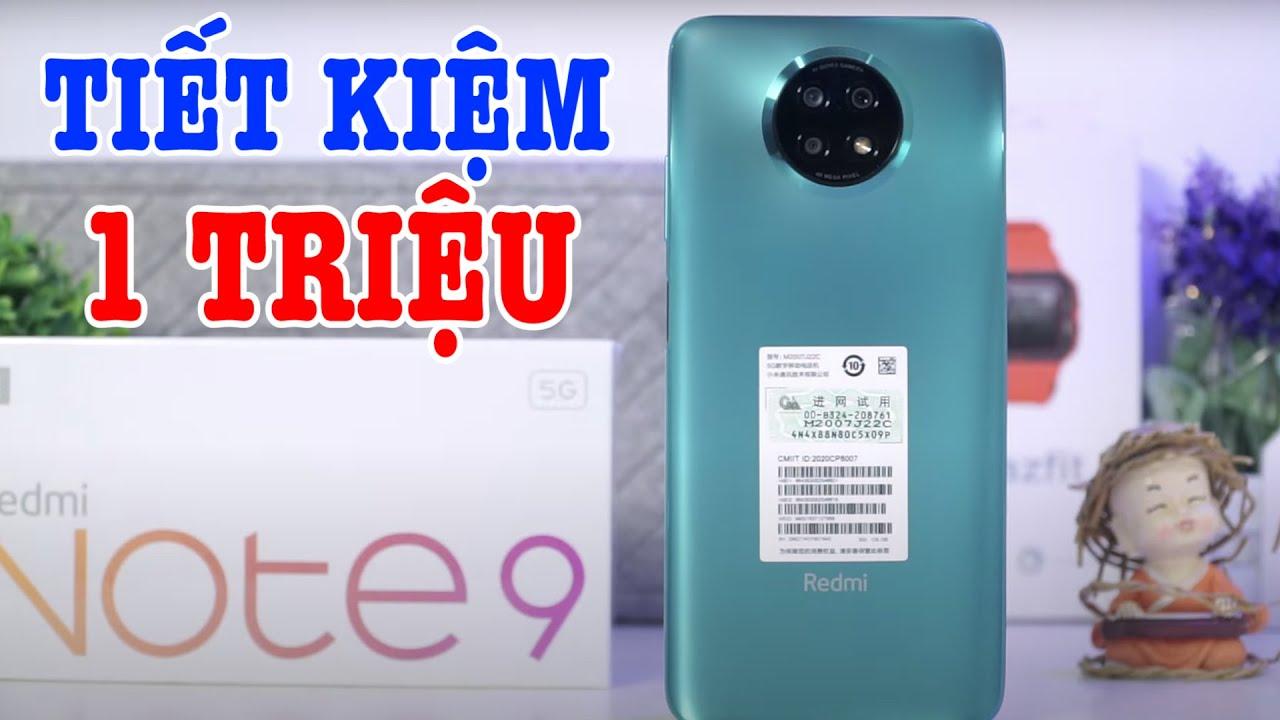 Mở hộp Redmi Note 9 5G 2021 ĐẦU TIÊN đẹp hơn và GIÁ RẺ HƠN Redmi Note 9 Pro 5G