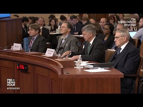 PBS NewsHour: WATCH: Rep. Elise Stefanik's full questioning of George Kent and Bill Taylor