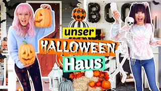 Unser Halloween Haus 🎃 Deko DIY's + Haustour | ViktoriaSarina