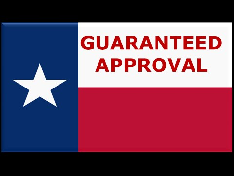 Texas : Guaranteed Approval on Bad Credit Auto Loans at Lower Interest Rates Ever! Best Programs for Student Car Loans!