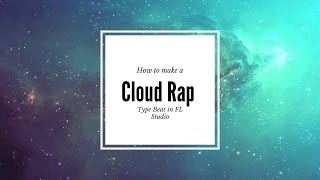 How to make a Cloud Rap type beat Sipping Yung Lean like WTF is xxxtentacion FL Studio 🎹🔥😂☁🌦⛅