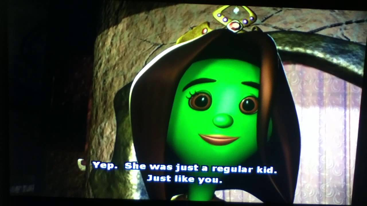 Veggietales Esther The Girl Who Became Queen Veggie Tales Esther Th...