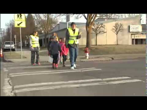 Health District encouraging more kids to walk to school