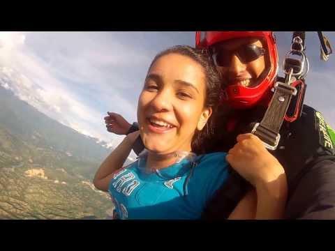 Salto con paracaidas en Medellin - Santa Fe de Antioquia