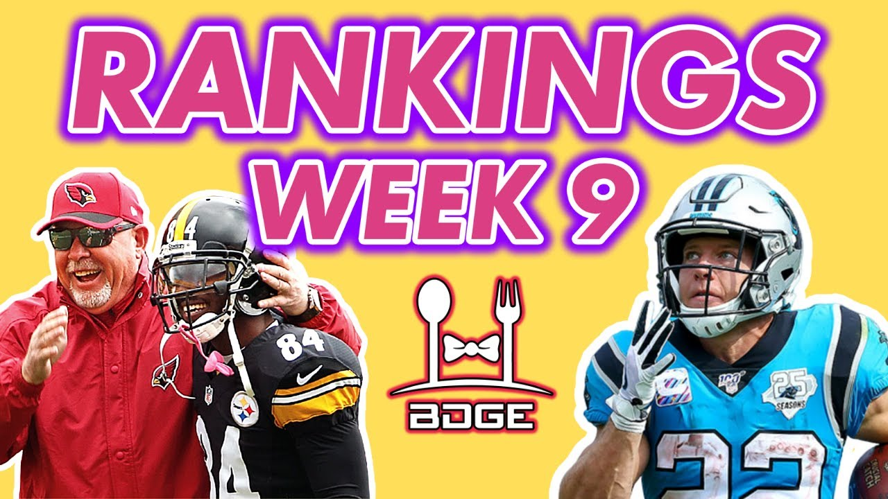 Week 9 Fantasy Football Rankings Must Starts Youtube