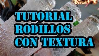 TUTORIAL FACIL RODILLOS CON TEXTURA DE GREEN STUFF WORLD @manticgames
