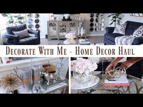 💙Glam Home💙 HOME DECOR HAUL | COFFEE TABLE STYLING