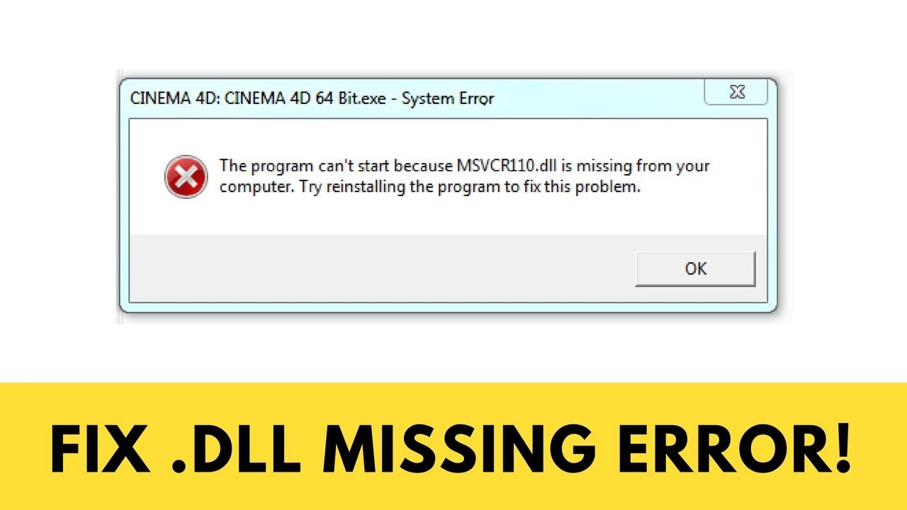 missing dll file