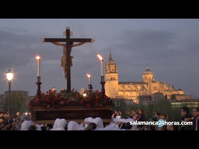 Semana Santa Salamanca 2017 | Procesión del Cristo del Amor y de la Paz