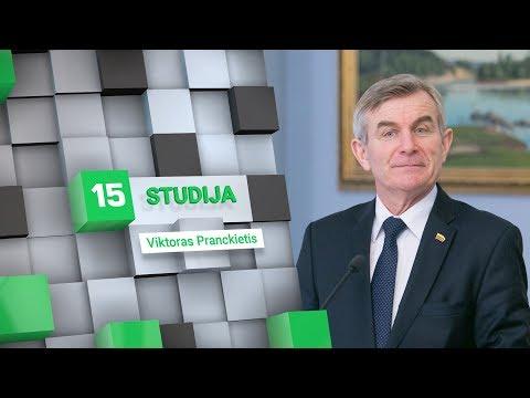15min studijoje – iš Seimo pirmininko posto verčiamas Viktoras Pranckietis
