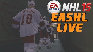 "NHL 15: EASHL LIVE  ep. 1 ""Let The Games Begin"""