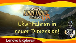 Euro Truck Simulator 2 / VR Tutorial / Windows Mixed Reality / Lenovo Explorer / deutsch / german