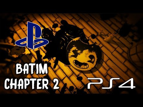 Bendy and the Ink Machine PS4 (CHAPTER 2) | NO COMMENTARY GAMEPLAY