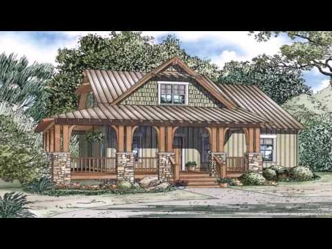 Small Craftsman Style Bungalow House Plans