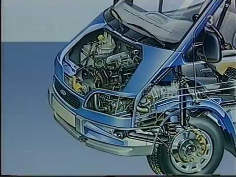 De nieuwe Ford Transit 1994