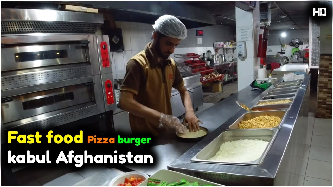 Afghan Fast Food | Kabul | Afghanistan | 2020 | HD